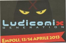 8803.   Empoli - Ludicomix Generation - 2013 - FG .- Decima Edizione - Manifestazioni