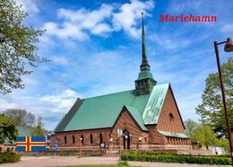 Aland Islands Mariehamn Saint George's Church New Postcard Ålandinseln AK - Finlande