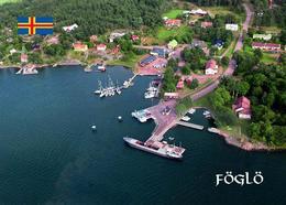 Aland Islands Föglö Aerial View New Postcard Ålandinseln AK - Finland