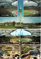 ALLEMAGNE MUNCHEN MUNICH Olympiastadion Lot De 2 Cartes Du Stade - Muenchen