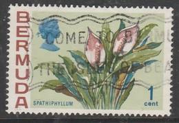 Bermuda 1970 Flowers 1 C Multicoloured  SW 247 O Used - Bermuda