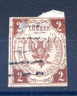 Luebeck N°3 Oblitéré - Aminci - Cote 350€ - (F753) - Luebeck