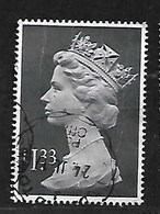 GB 1984 LARGE £1.33 MACHIN WITH FU ROUNDED CANCELLATION - Série 'Machin'