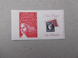 MARIANNE DU 14 JUILLET  3729Aa  TIMBRE  PETITE VIGNETTE  LOGO  PASSION - Personalized Stamps