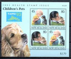 New Zealand 1993 Nueva Zelanda / Cats Dogs MNH Gatos Perros Hunde Katzen /  C9532  5-21 - Perros