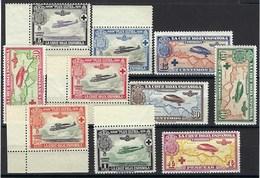 Europe - Espagne - Poste Aérienne N° 7 à 16 ** - Très Belle Qualité - Bord De Feuille - - Neufs