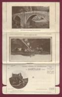 040220C - Carte Lettre 15 SAINT FLOUR Château Sailhant Viaduc De Garabit Pont De Tréboul - Saint Flour