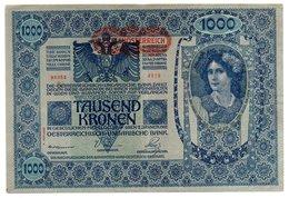 Autriche / 1000 Kronen 2-1-1902 / TB / Déchirures - Austria