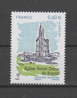 """FRANCE / 2011 / Y&T N° 4613 ** : """"Touristique"""" (Eglise Notre-Dame De Royan - Charente-Maritime) X 1 - Unused Stamps"""