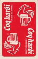 1 SPEELKAART COQ HARDI LA BIERE DES FLANDRES ROOD JOKER - Playing Cards