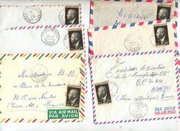 6 Lettre  à Voir - Gabon (1960-...)