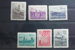 Deutsche Besetzung 2. WK Estland 4-9 ** Postfrisch #TP935 - Besetzungen 1938-45