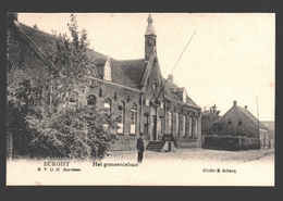 Burcht / Burght - Het Gemeentehuis - Uitgave R.V.D.H. Berchem-Anvers - Zwijndrecht
