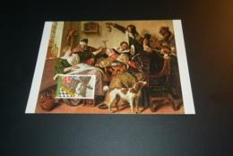 M7577 -  Set Maximum Cards Netherlands 1979 -  Jan Steen - Vondel - Cartoline Maximum