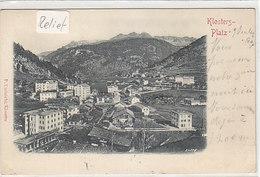Klosters-Platz - Relief-Karte - 1901       (P-214-90411) - GR Grisons