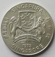 Singapore 10 Dollars, 1973 Hawk KM # 9.2 - Singapore