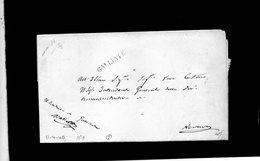 CG8 - Galliate - Bollo Stampatello Diritto Nero. - Lettera X Novara 11/4/1849 - Italy