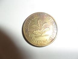 10 Pfennig 1976 G - 10 Pfennig