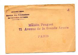 Devant De Lettre Cachet A - Marcophilie (Lettres)