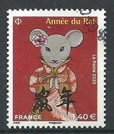 FRANCIA 2020 - Année Du Rat - Cachet Rond - Gebraucht