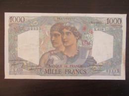 France - Billet 1000 Francs Cérès Et Mercure 20-4-1950 X.639 - F.41.32 - TB+ / TTB - 1 000 F 1927-1940 ''Cérès Et Mercure''
