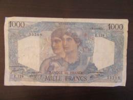 France - Billet 1000 Francs Cérès Et Mercure 22-11-1945 E.129 - F.41.08 - TB - 1 000 F 1927-1940 ''Cérès Et Mercure''