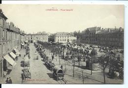 LUNÉVILLE - 1910 - Place Léopold - Le Marché - VENTE DIRECTE X - Luneville