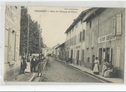 01 Ain Thoissey Rue Du Champ De Foire Aubergiste Mothion Animé - Andere Gemeenten