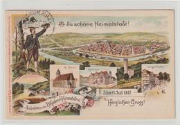 Privatganzsache Mündener Heimatfest 1897 - Germany
