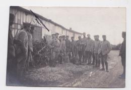 Souvenir De BAILLY-LE-FRANC (Aube) - Photographie Militaire Grande Guerre Poilus Novembre 1917 - Guerre, Militaire