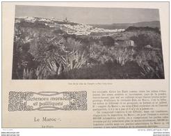 1905  LE MAROC TANGER AL CAZAR TÉTUAN - REVUE SOCIALISTE - LA CULTURE DES CHAMPIGNONS DE PARIS - Riviste - Ante 1900