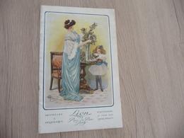 Pub Publicité Illustré Par Guillaume Et Pierre Vincent Catalogue Lion Paris 22 Pages Dentelles Broderie - Advertising