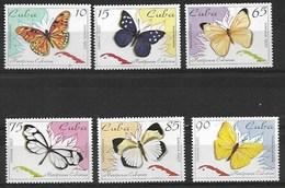 CUBA 1995 BUTTERFLIES  MNH - Schmetterlinge