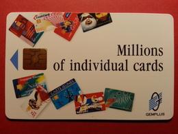 GEMPLUS Millions Of Individual Cards GEM Phonecards  (BA0220.2 - Herkunft Unbekannt