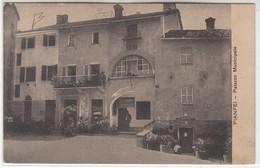 PIANFEI CUNEO PALAZZO MUNICIPALE - CARTOLINA SPEDITA NEL 1913 - Autres Villes