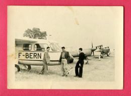 PHOTO PETIT FORMAT 10,5 X 7,5 Cm (Réf : Z 738) « THÈME TRANSPORTS AVION»  Meeting Aérien De Redgas (PHILIPPEVILLE) - Avions