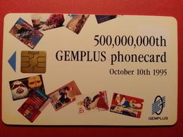 GEMPLUS 500 000 000 Th GEMPLUS Phonecard October 10th 1995 Demo Salon TELECOM 95  (BA0220.2 - Unknown Origin