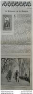 1896 LE MILLÉNAIRE DE LA HONGRIE - THEATRE HONGROIS - QUELQUES AVEUGLES Par Lucien DESCAVES - 1850 - 1899