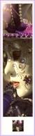 Marque-page °_ Cely EC - A208 - Photolibrary - Carnaval Masque Vénitien V.uni 5x18 - Lesezeichen