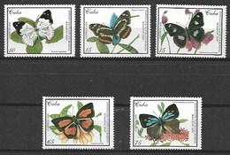 CUBA 2000 BUTTERFLIES  MNH - Schmetterlinge