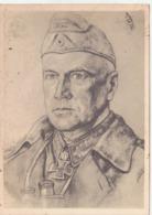 """III. Reich, Willrichkarte Nr.E 19,  """" Generalleutnant Grüwell """" Kommandeur Einer Panzerdivision - Guerre 1939-45"""