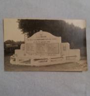 (W1) Fontaine- L'Evêque : Monument Du Souvenir Des Patriotes Fontainois Morts Pour La Patrie... - Fontaine-l'Evêque