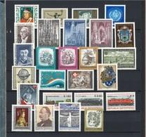 Österreich Jahrgang 1977 Komplett Postfrisch - 1945-.... 2. Republik