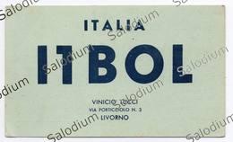 LIVORNO - CB RADIO - Radioamatore - Radioamateur - QSL - Short Wave - Carte QSL