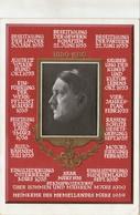"""III. Reich, Propaganda Karte """" Adolf Hitler  """" Stempel """" Deutsch Die Ostmark """" - Weltkrieg 1939-45"""