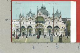 CARTOLINA VG ITALIA - VENEZIA - Chiesa San Marco - 9 X 14 - 1915 - Venezia