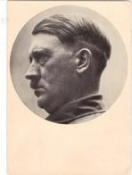 """III. Reich, Propaganda Karte """" Adolf Hitler   """" Männer Der Zeit Nr 18, Der Bauherr Des Dritten Reiches ! - Weltkrieg 1939-45"""