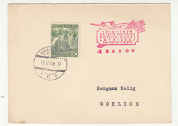 Poland - 4 Cards With Air Mail Communications Special Postmark 1939 Lwow/Krakow B200125 - Covers & Documents