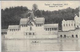 Italie, PIEMONTE, TORINO, Esposizione 1911 - Padiglione Del Siam, Scan Recto Verso - Expositions