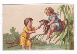 Jolie Chromo A L'Y, Maison Chauffert-Preinsler, Châlons-sur-Marne, Mercerie, Parfumerie, Fin 19e S. - Other